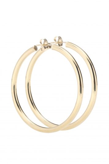 Click to Buy Loren Stewart Gold Hoop Earrings