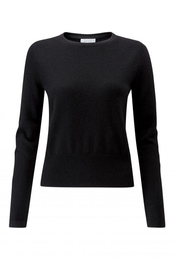 Click to Buy Pure Cashmere Cropped Sweater