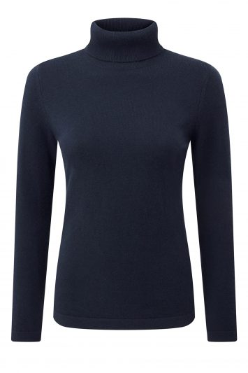 Click to Buy Pure Collection Roll Neck Sweater