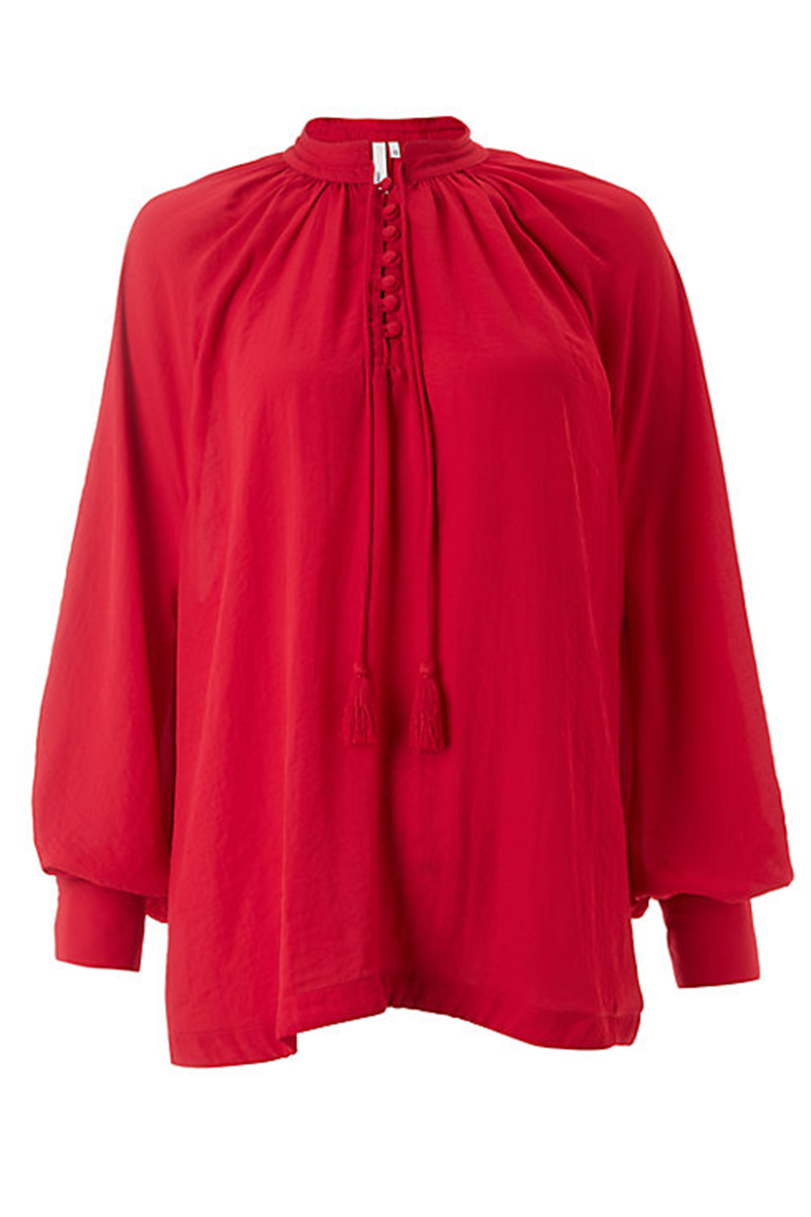Click to Buy AND/OR Red Blouse