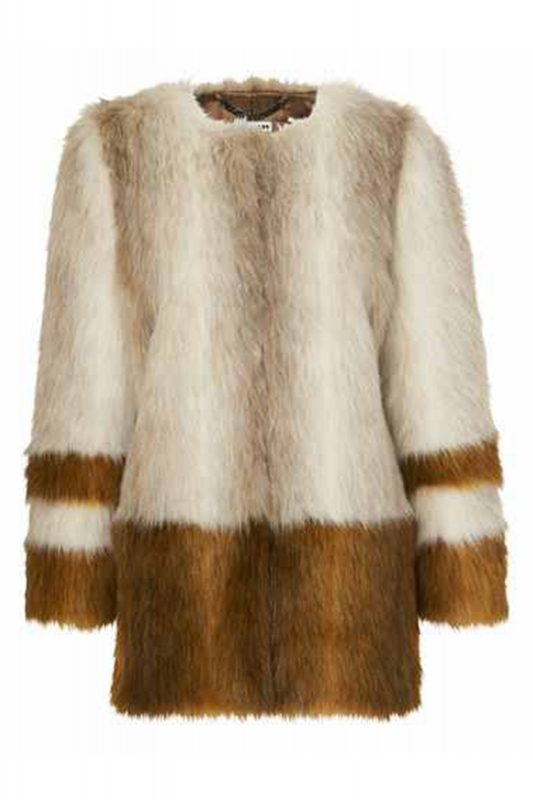Click to Buy Whistles Faux Fur Coat
