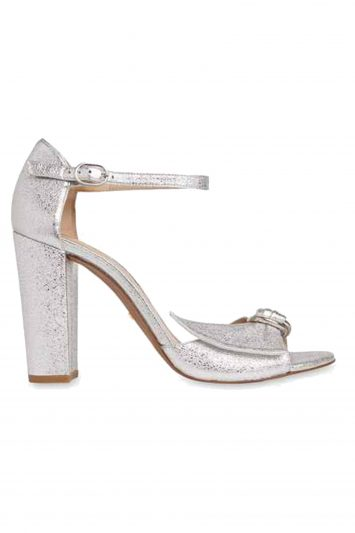 Click to Buy Whistles Silver Heeled Pumps