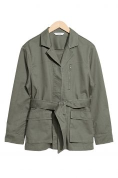 Click to Buy & Other Stories Green Jacket