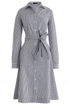 Click to Buy J. Crew Stripe Shirt Dress