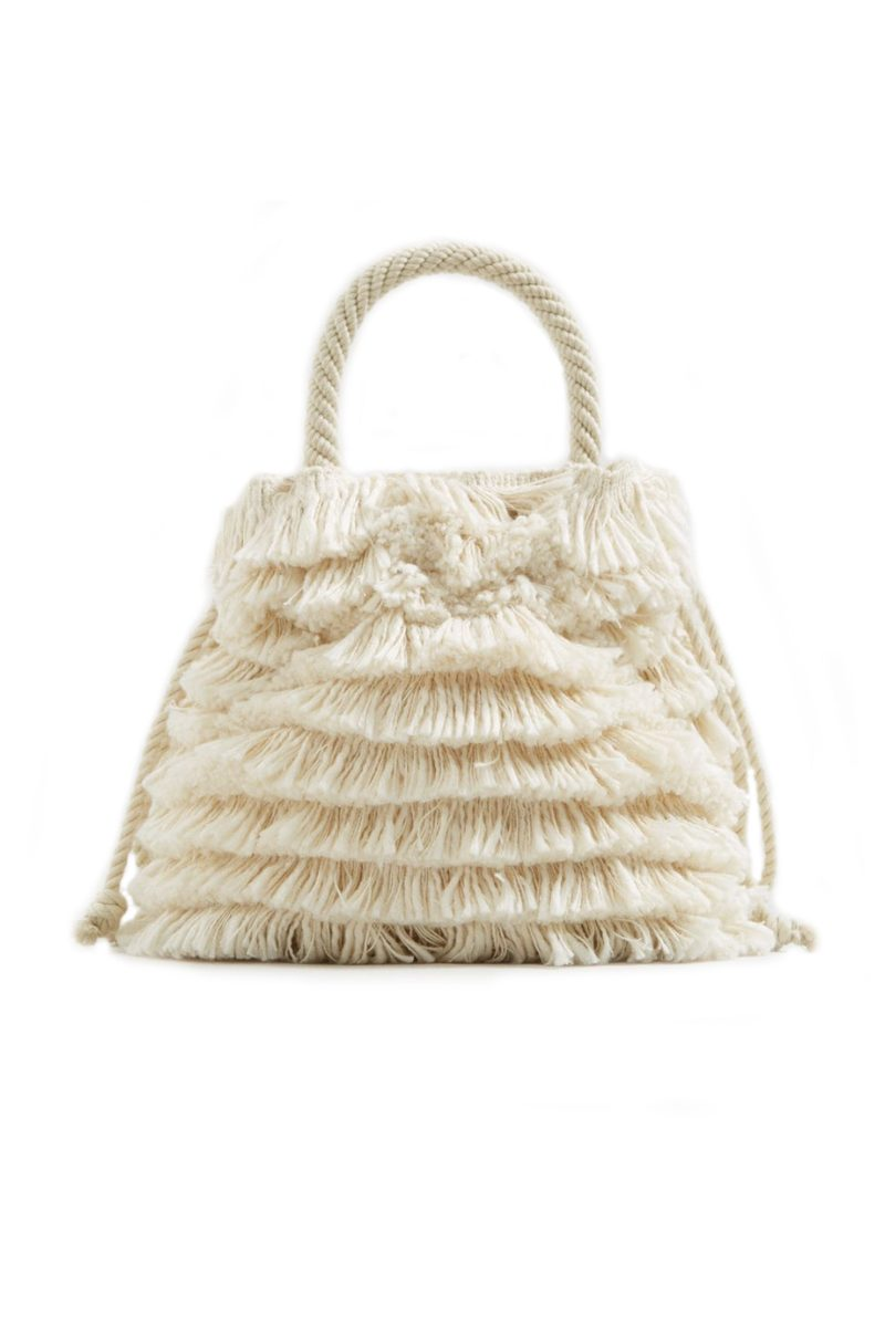 Click to Buy Mango Fringe Bag