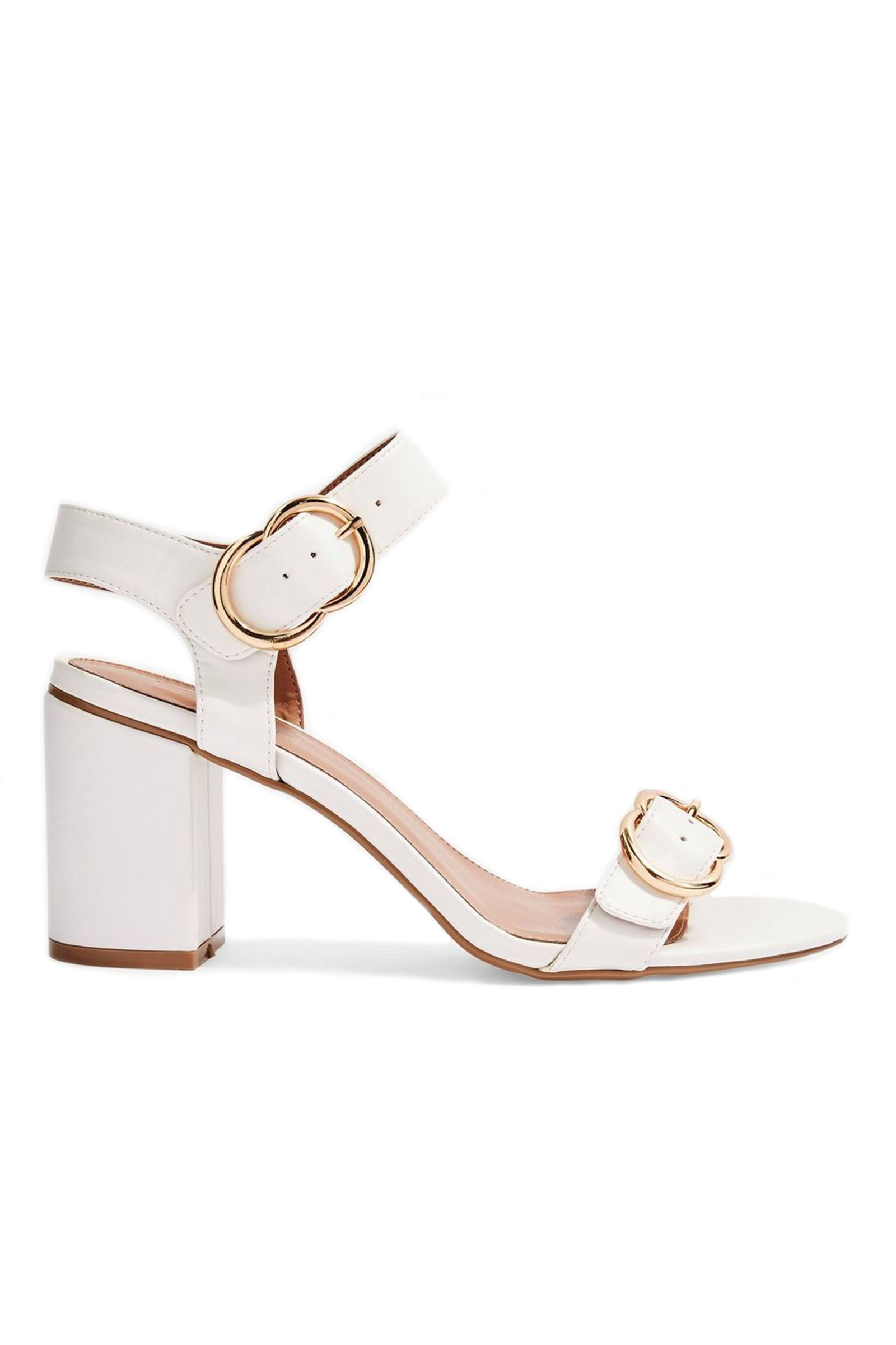 Topshop White Sandals