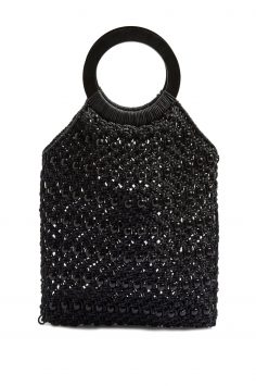 Click to Buy Topshop Black Mykonos Bag