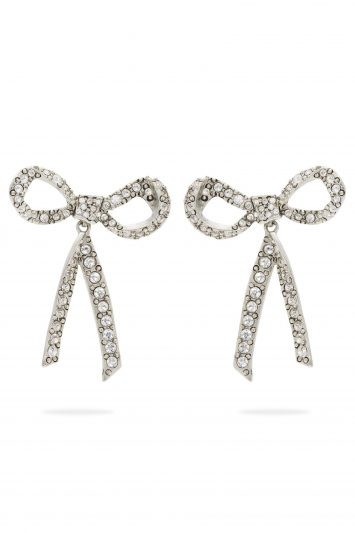 Click to Buy Oscar-De-La-Renta-Bow-Earrings