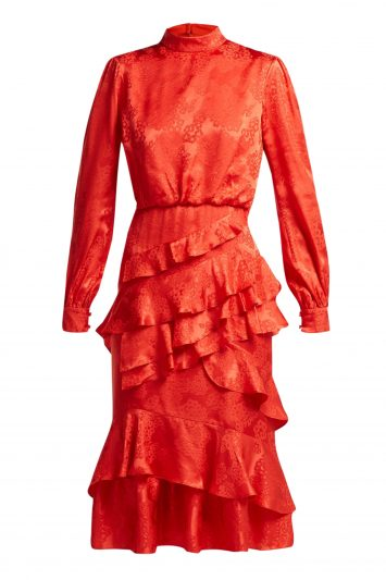 Click to Buy Saloni Silk Dress