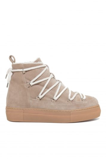 Click to Buy See By Chloe Eileen shearling-trimmed suede ankle boots