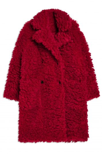 Click to Buy Topshop Big Borg Coat