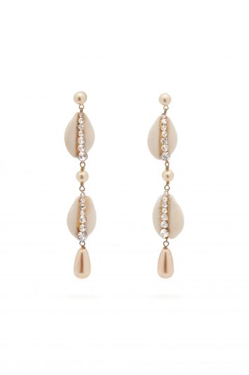 Click to Buy Etro Shell Earrings