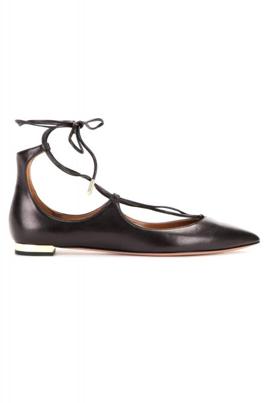Click to Buy Aquazzura Tie Up Flats