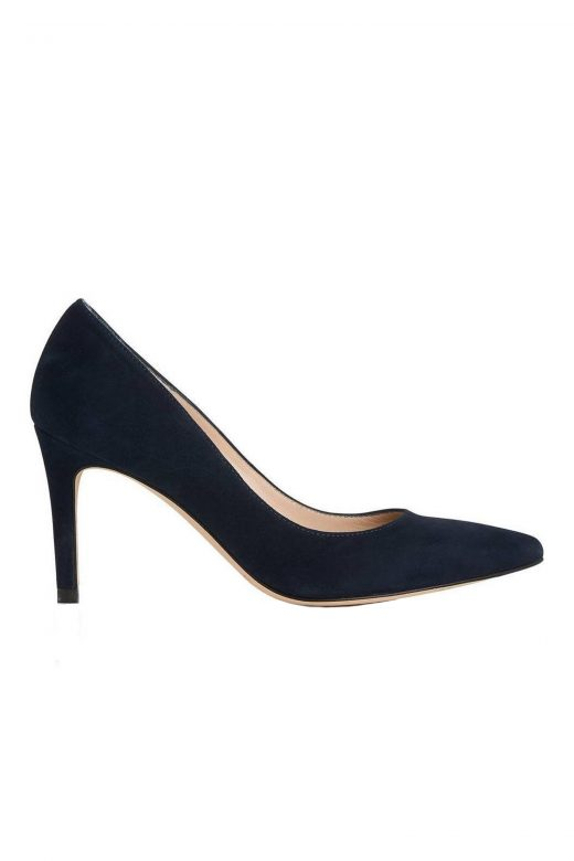 Click to Buy L.K. Bennett Floret Navy Courts