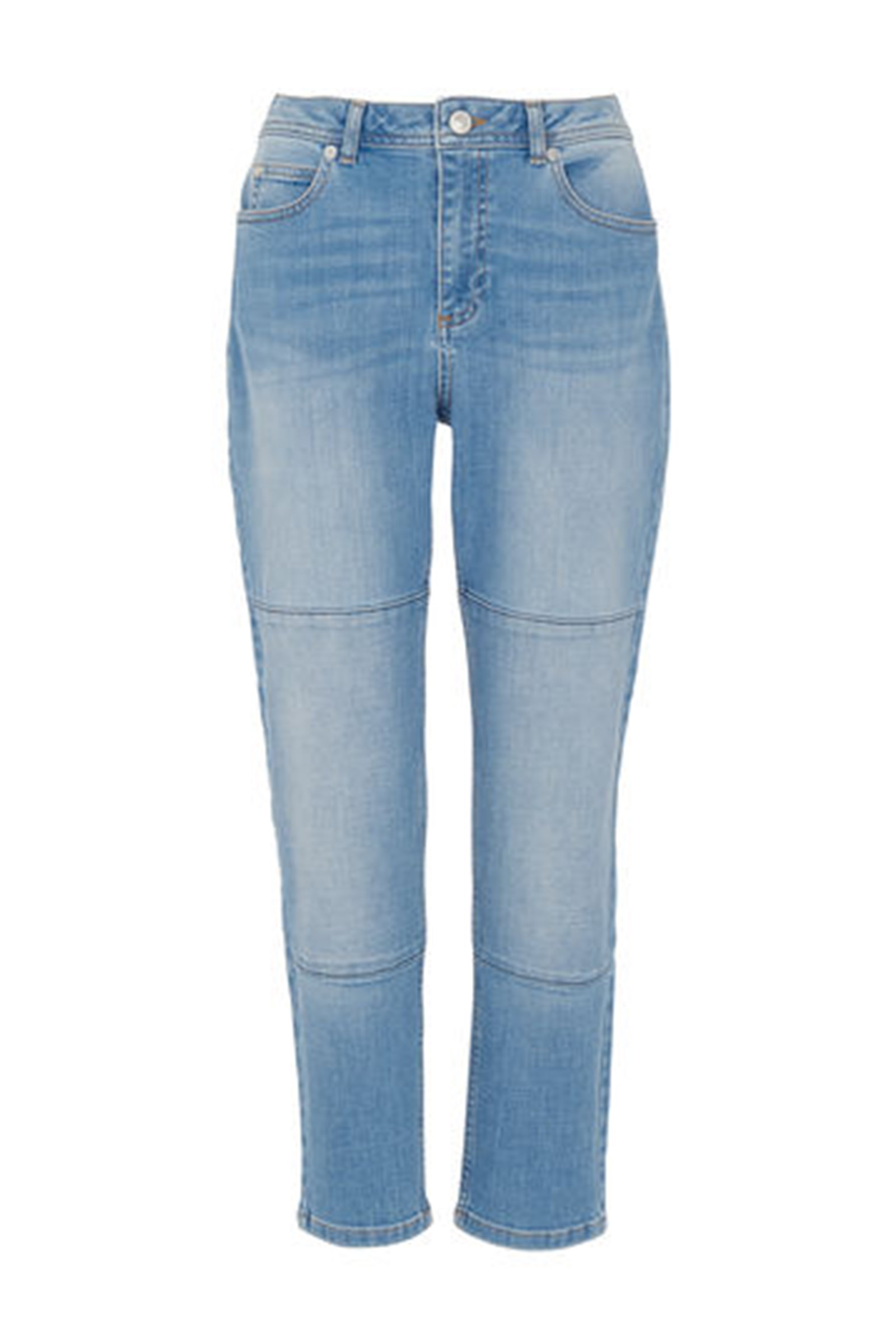 Click to Buy Whistles Light Panelled Boyfriend Jeans