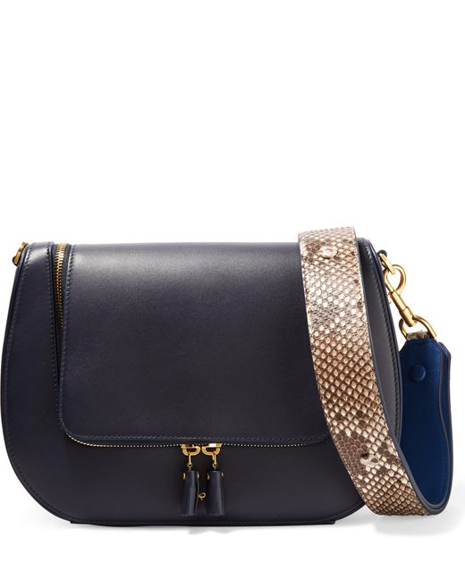 897cc8e99160 Buy Anya Hindmarch Vere python and leather shoulder bag Online