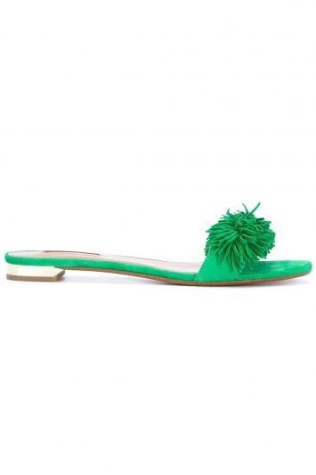 Click to buy Aquazzura Wild Thing slide online