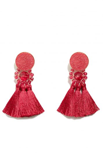 Click to buy Mango Tassels pendant earrings online
