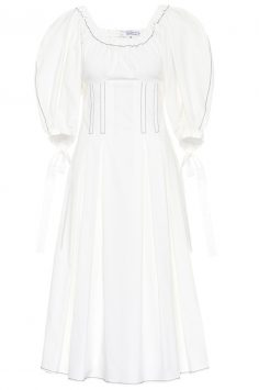Click to buy Rejina Pyo white Greta dress