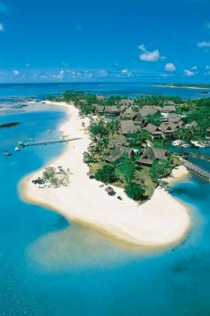 Aerial View of Constance Prince Maurice Hotel