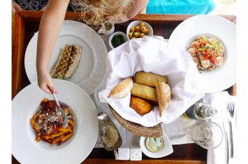 Image of food at Constance Prince Maurice Hotel