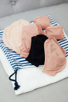Image of packing underwear