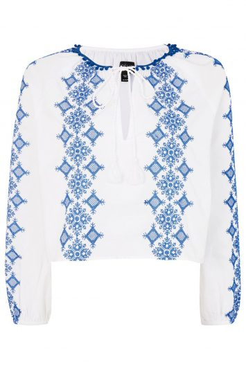 Click to buy Topshop smock top