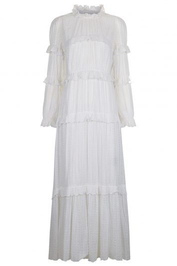 Click to buy Isabel Marant Etoile white cotton dress