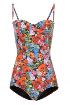 Click to buy Dolce & Gabbana Printed Onepiece online