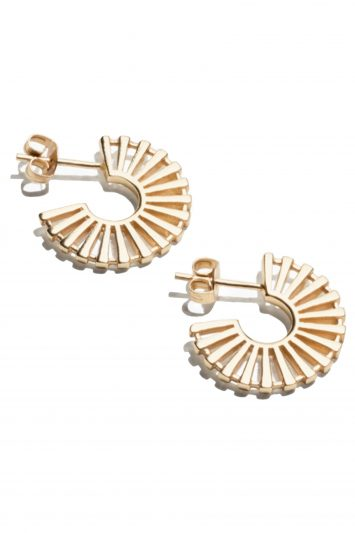 Click to buy Stories Sun Fan Earrings online