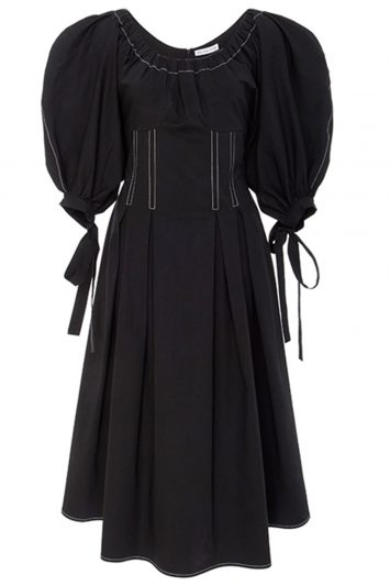 Click to buy Rejina Pyo black Greta dress