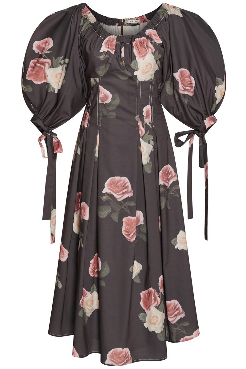 Click to buy floral print Greta dress