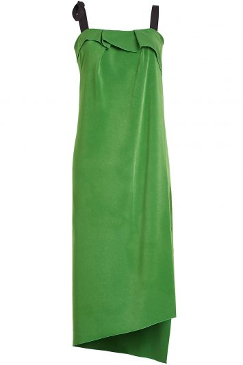 Click to buy Rejina Pyo green crepe dress