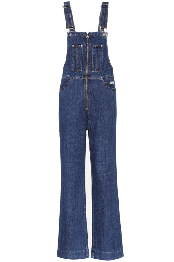 Click to buy ALEXACHUNG dungarees