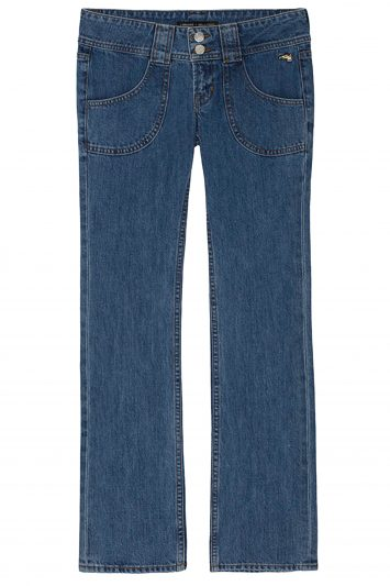 Click to buy Bella Freud boyfriend jeans