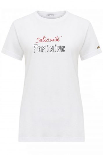 Click to buy Bella Freud solidarite tee