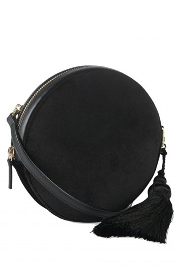 Click to buy Whistles round velvet bag
