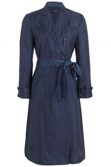 Click to buy J Crew silk trench dress online
