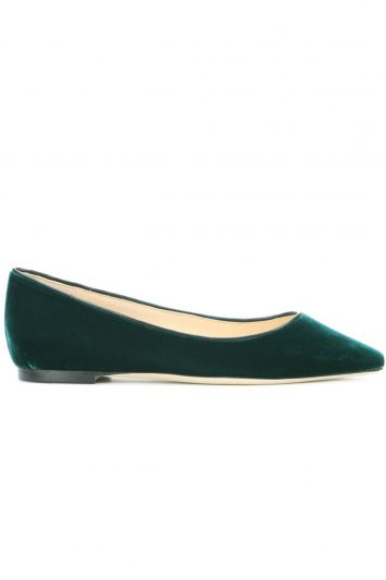 Click to buy Jimmy Choo Romy ballerinas online