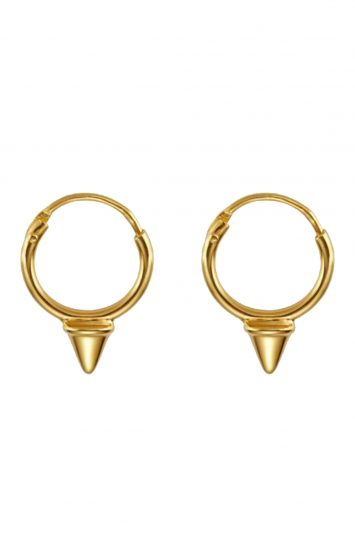 Click to buy Otiumberg gold mini hoops