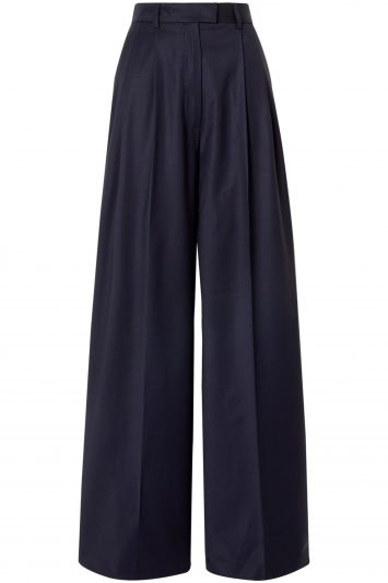 Paul-and-Joe-Pleated-Wool-blend-Wide-Leg-Pants
