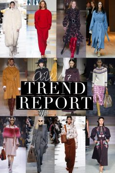 Autumn Winter 2017 Trends