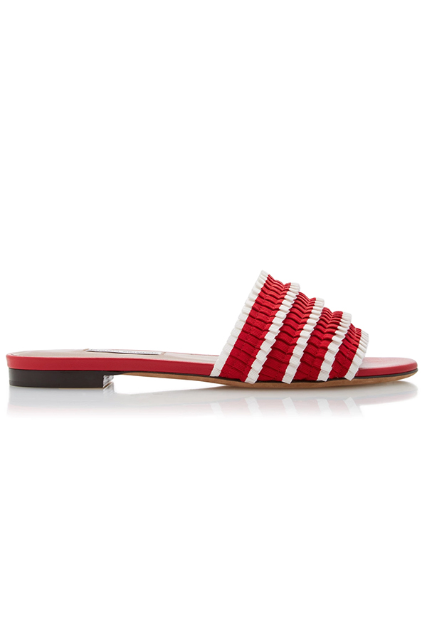 Click to buy Tabitha Simmons Pleated Slides online