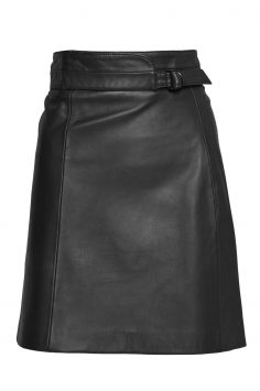 Click to Buy French Connection Goldenberg Leather Mini Skirt