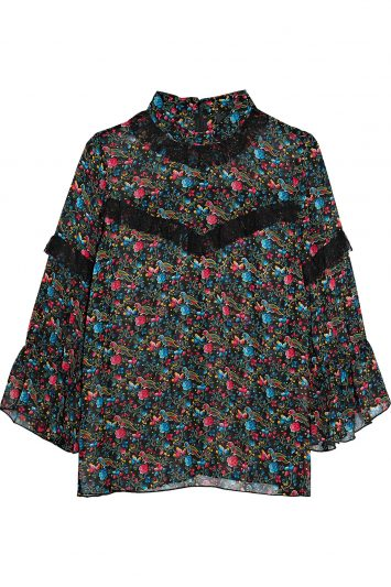 Click to buy Anna Sui floral blouse