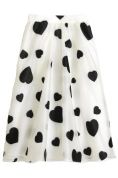 Buy J. Crew heart skirt