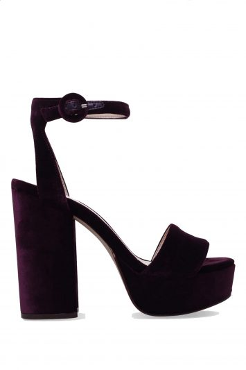 Click to Buy Krewl Purple Velvet Nine West