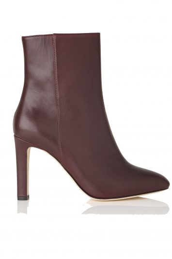 Click to Buy L. K. Bennett Edelle Leather Ankle Boots