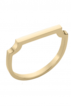 Click to Buy Monica Vinader Signature Thin Ring