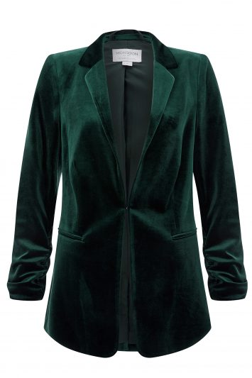Click to Buy Monsoon Alicia Velvet Blazer